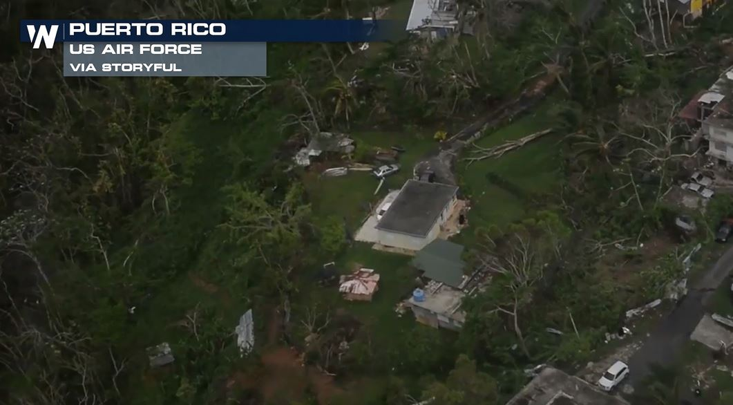 Army Officials Assess Puerto Rico Power Line Damage