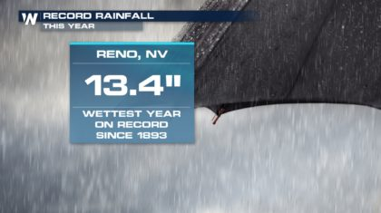 Reno Eclipses Wettest Year Yet