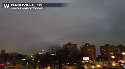 Developing: Storm Damage in Tennessee Within Tornado-Warned Storm