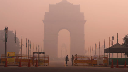 Dangerous to Breathe: Air Quality Emergency for Delhi, India