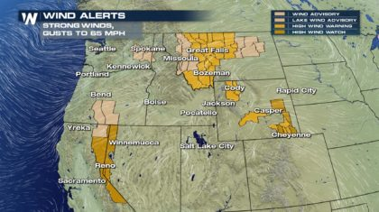 Wind Concerns Across the West
