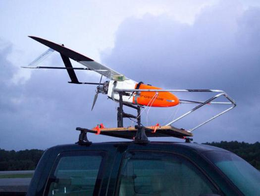 10th Anniversary of Aerosonde Unmanned Aircraft Flys into Hurricane-Force Winds