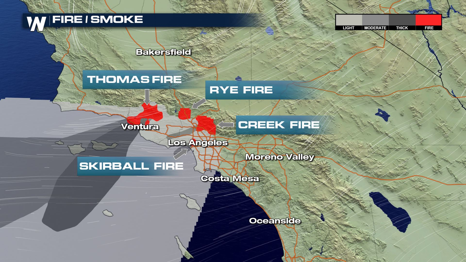 California Fire Update Overnight Wednesday - Thursday