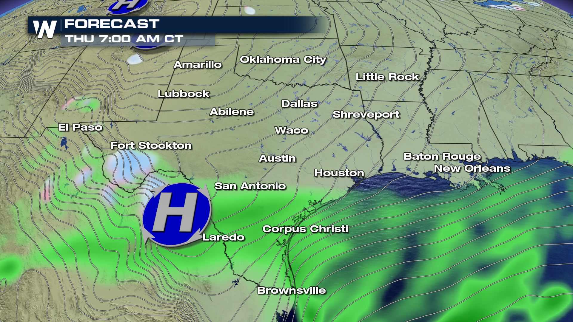 Increasing Snow Chances for   West Texas? - WeatherNation