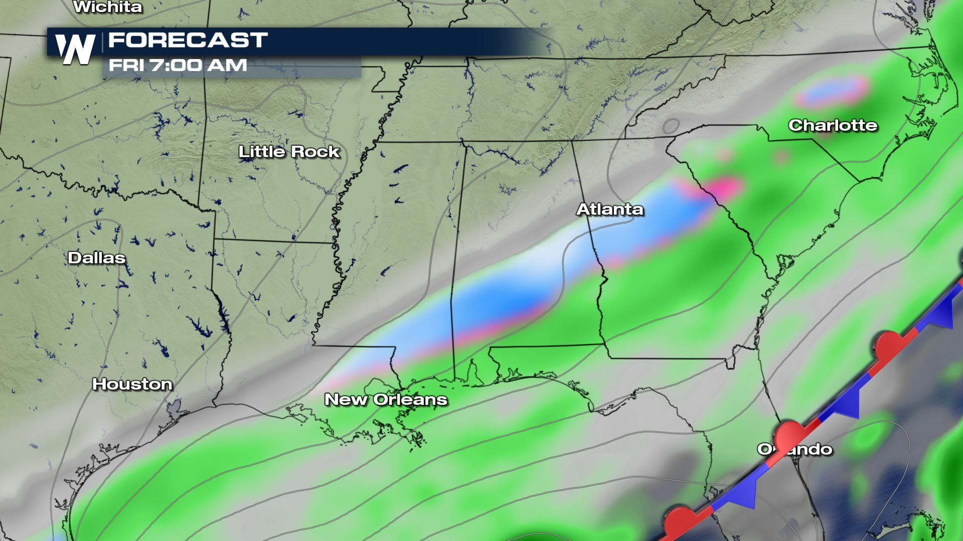 Winter Weather Potential for the Gulf Coast - WeatherNation