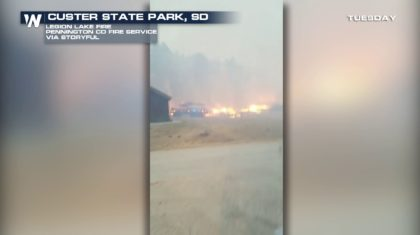 Legion Lake Fire in the Black Hills of South Dakota Now Third-Largest in Black Hills History
