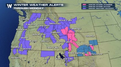 More Rain and Snow For The Northwest