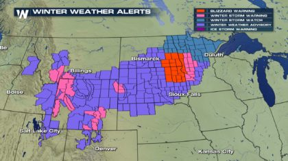 Blizzard Conditions Expected Monday