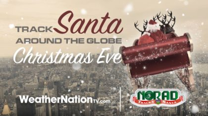 Track Santa Around the World with NORAD