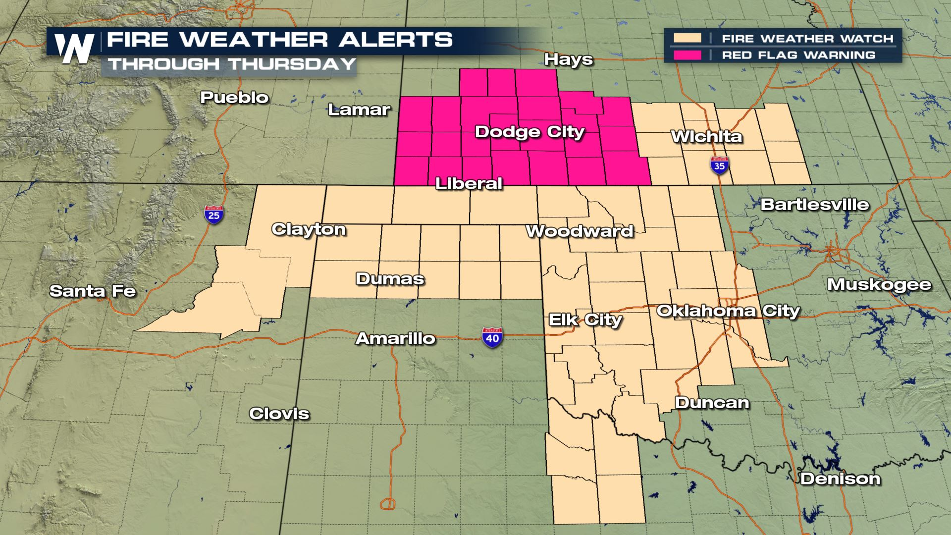Fire Concerns for the Southern Plains