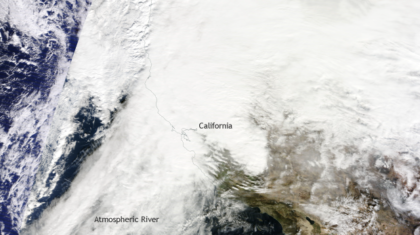 Why Did it Rain so Much in California During Last Year's La Niña?