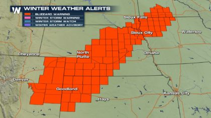 Blizzard Warnings Could Outlast the Snowstorm