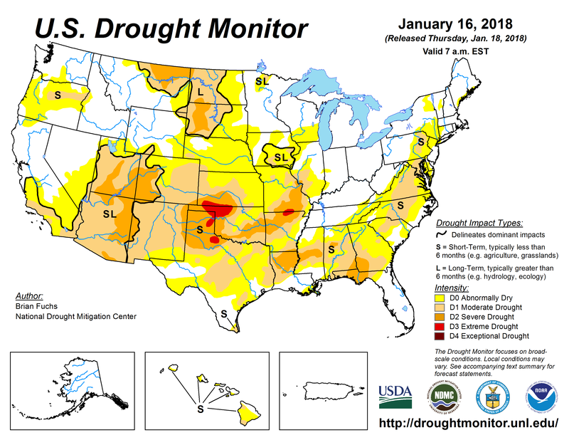 How the U.S. Drought Monitor Assists Ranchers and Federal Agencies ...