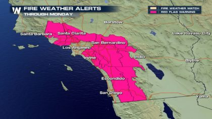 Fire Concerns for the Southern California