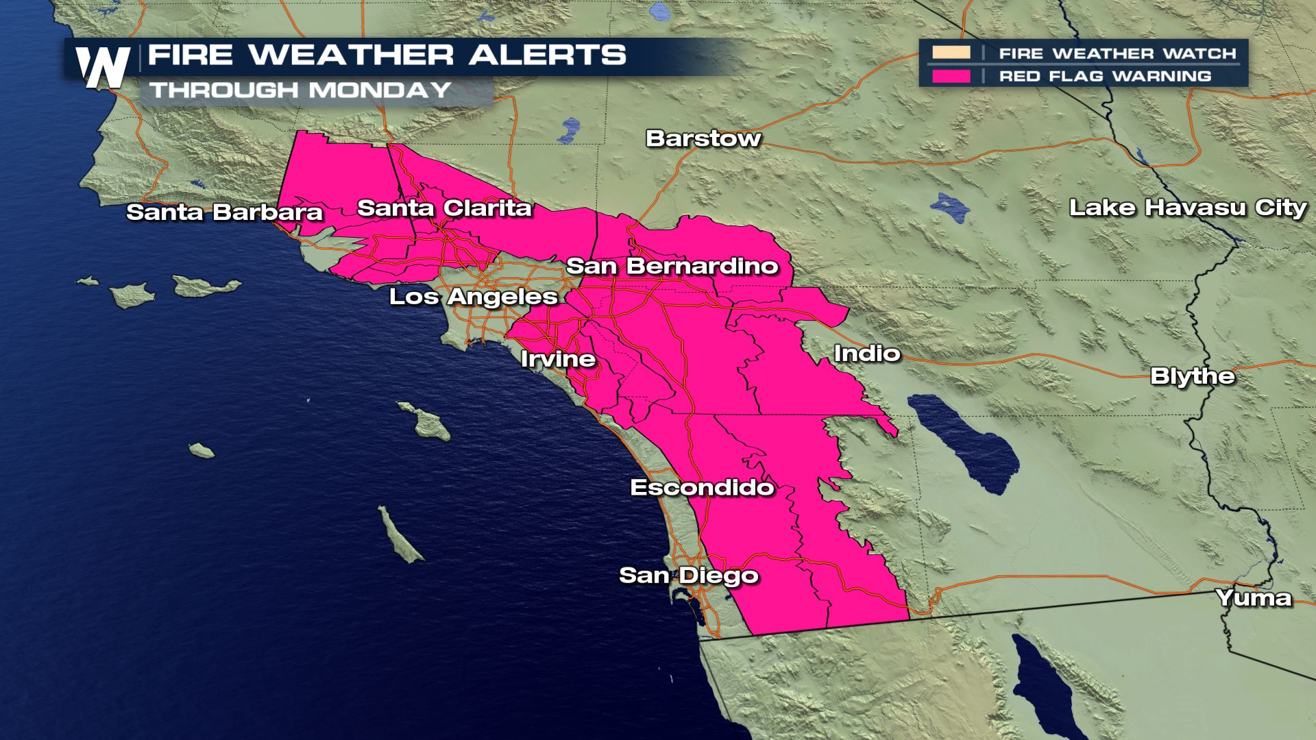Fire Concerns For The Southern California Weathernation