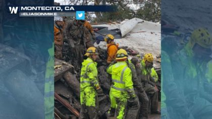 Rescues Underway After Debris Flows in California