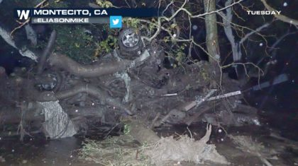 Mudslides Close Highways Across Southern California
