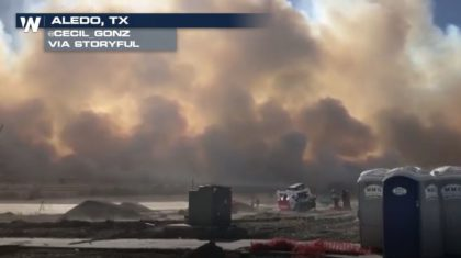Texas Grass Fire Forces School, Home Evacuations