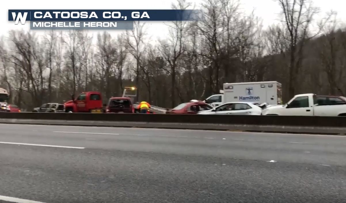 Icy Roads Causing Problems in Southeast