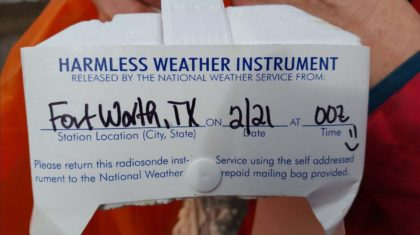 Dallas to Dexter: The Journey of a Weather Balloon