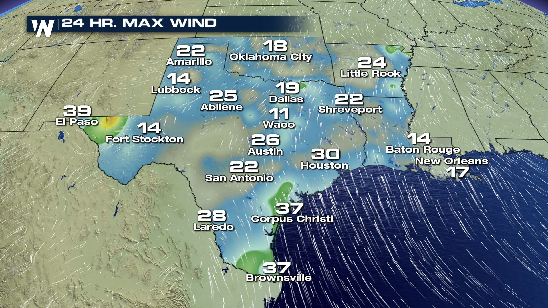 Map Of West Texas And New Mexico.Dangerous Winds For New Mexico And West Texas Today Weathernation