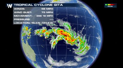 U.S. Territory Declares State of Disaster in Wake of Cyclone Gita