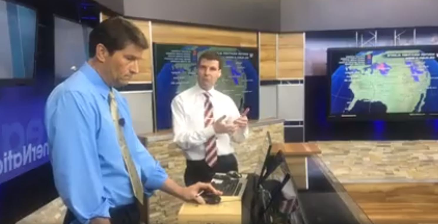 WeatherNation Meteorologists Discuss Severe Weather