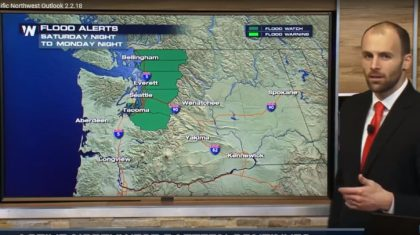 VIDEO: Flooding & Landslide Concerns in Greater Seattle Area