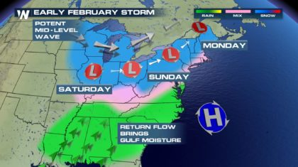 Winter Storm to Affect Central, Eastern U.S.