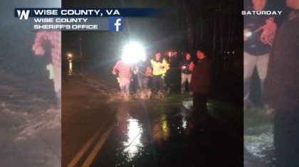 Water Rescues From Flooding Saturday Night