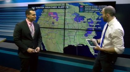 WeatherNation Meteorologists Discuss Next Winter Storms