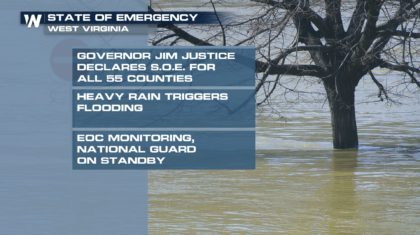 State of Emergency Declared for all West Virginia Counties