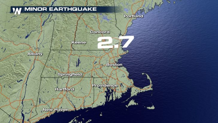 Minor Earthquake Shakes New England