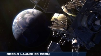 GOES-S Launches Soon