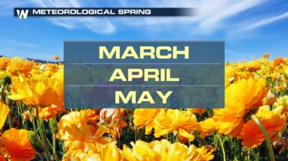 Here Comes (Meteorological) Spring