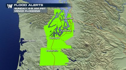 Coastal Flooding Threat in Washington State