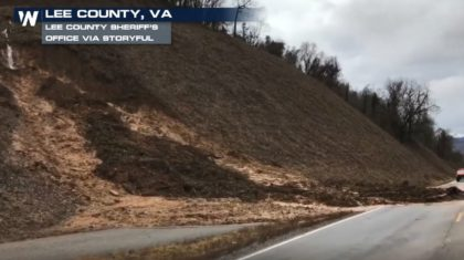Heavy Rain Causes Flooding, Mudslides in Southwest Virginia