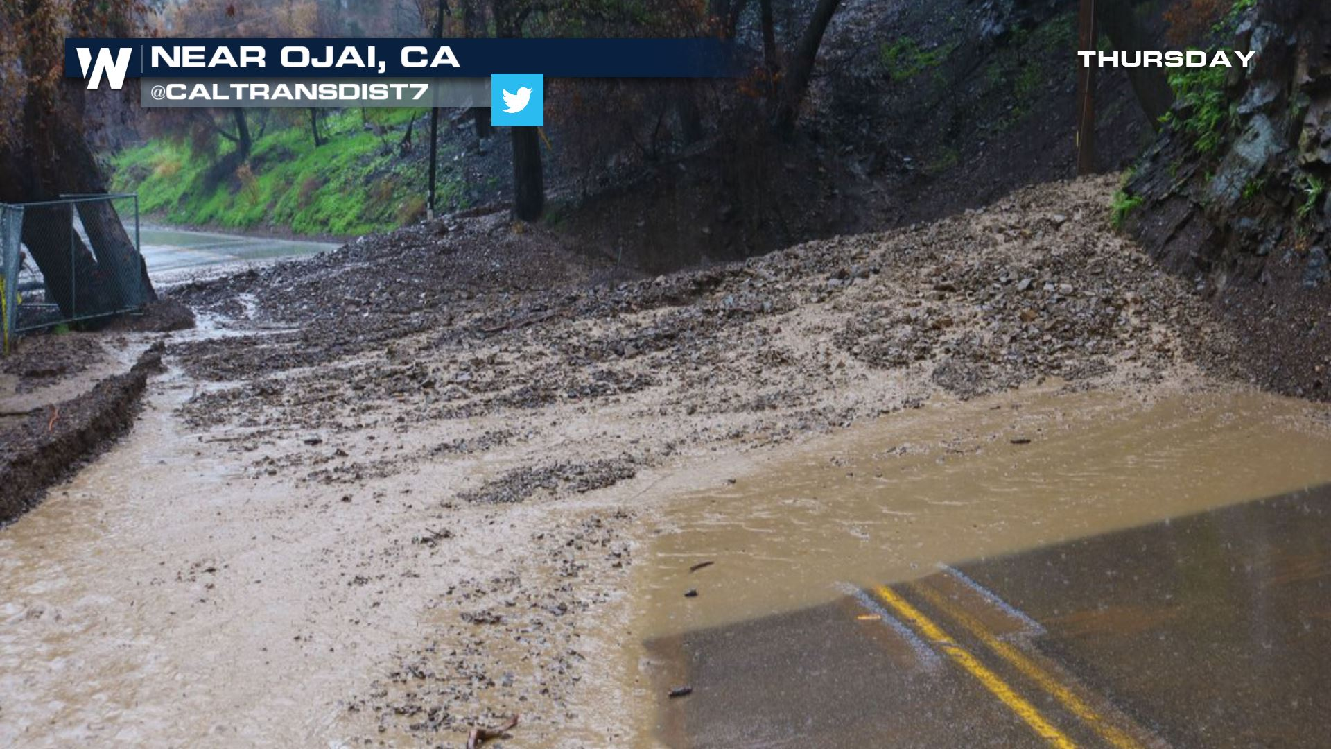 CA Evacuations Lifted as Heavy Rain Ends