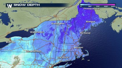Avalanche Risk Along Some Northeast Mountains