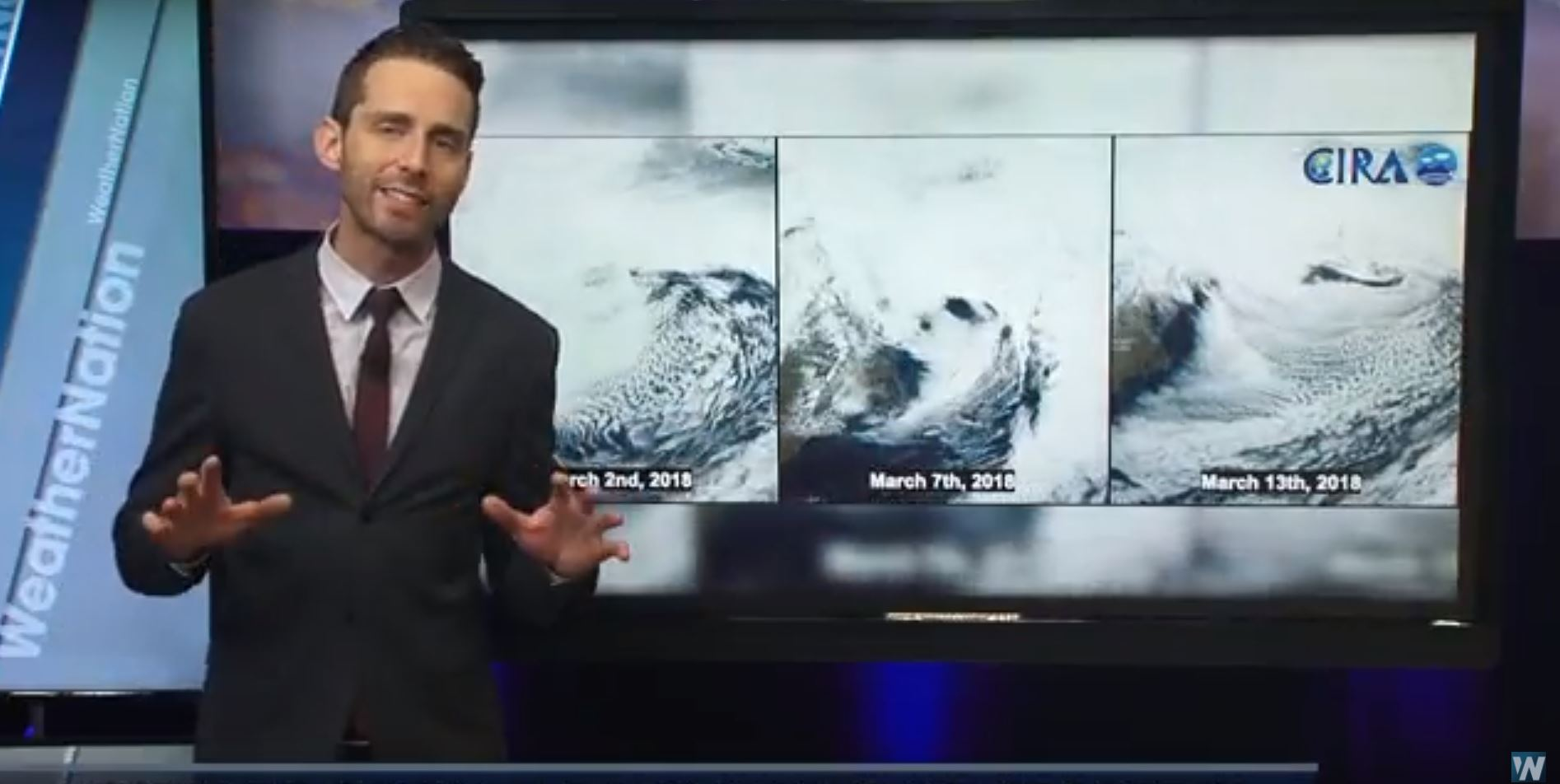 A Look Back at the Three Nor'easters