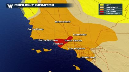 Drought Expanding Across Southern California