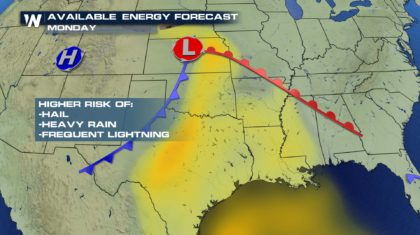 Severe Threat to Increase Across Southern Plains Early Next Week