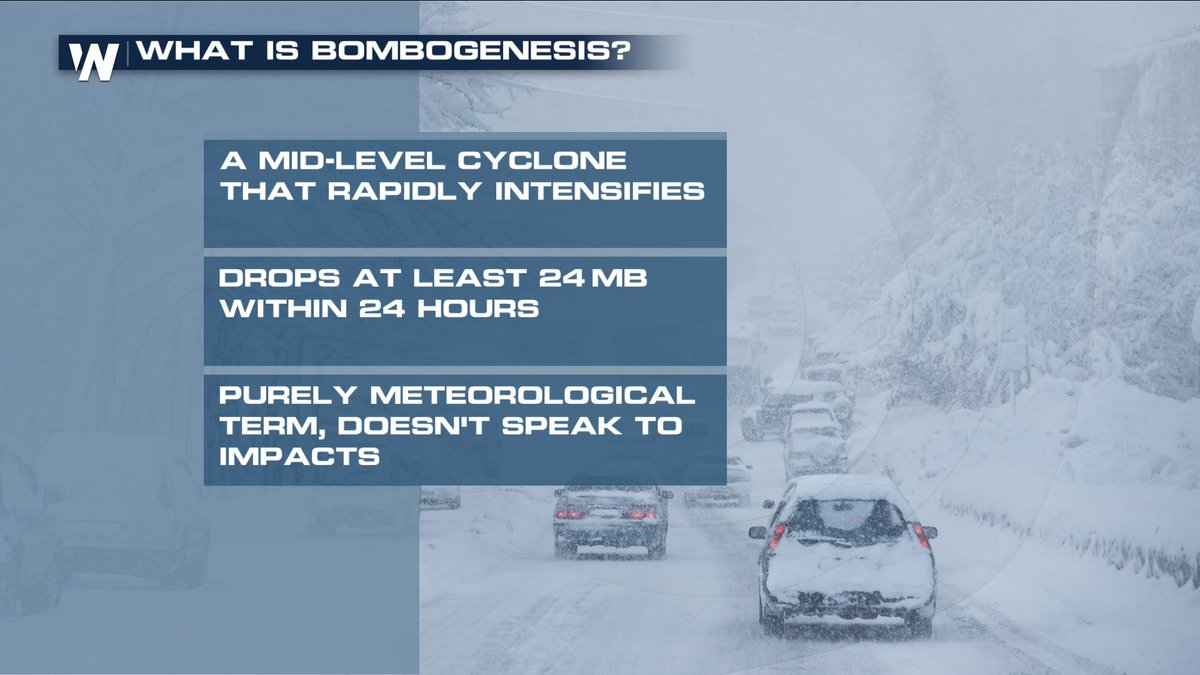 "BOMBOGENESIS: When a Surface Low ""Explodes"""