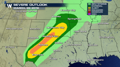 What a Severe Weather Outlook Means