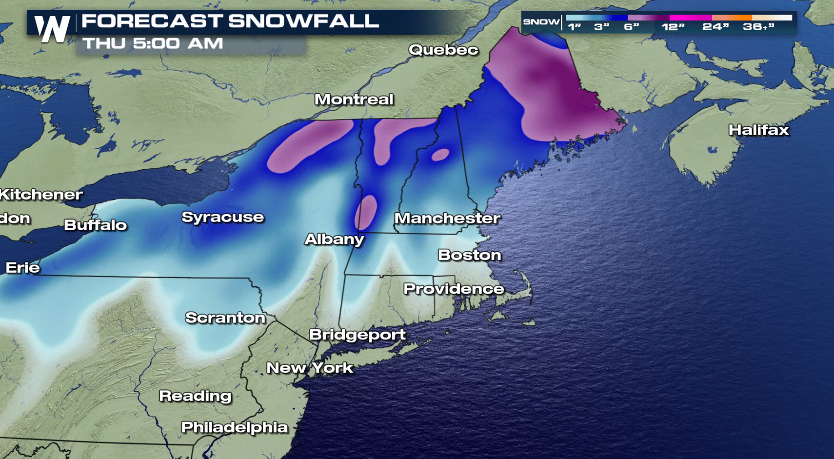 Heavy Snow Continues to Fall in the Northeast - WeatherNation