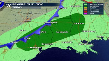 Could the South See More Severe Storms?