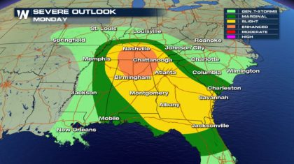 Several Days of Severe Weather Ahead