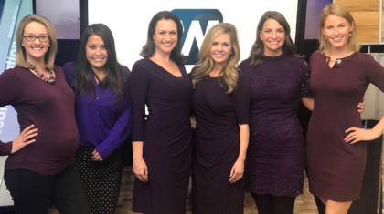 Meteorologists Wear Purple to Inspire Women in STEM Fields