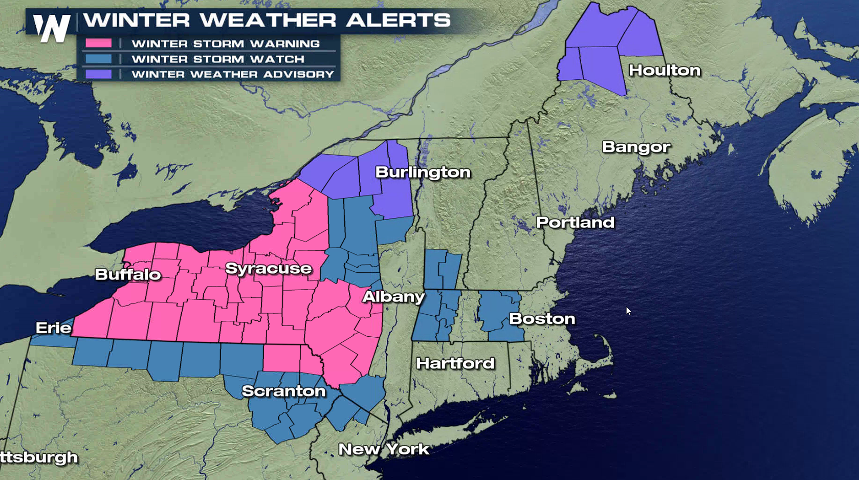 Coastal Storm to Bring Heavy Snow, Rain and Wind to the