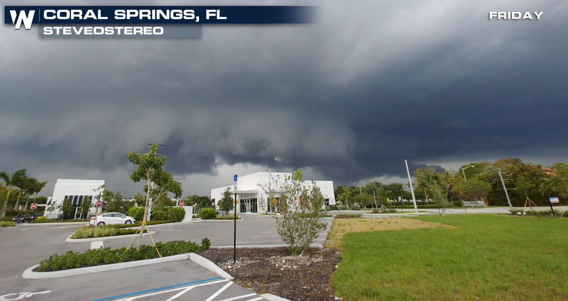Confirmed Tornado in South Florida Friday Afternoon